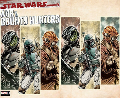Star Wars WAR OF THE BOUNTY HUNTERS #1 Paolo Villanelli Variant