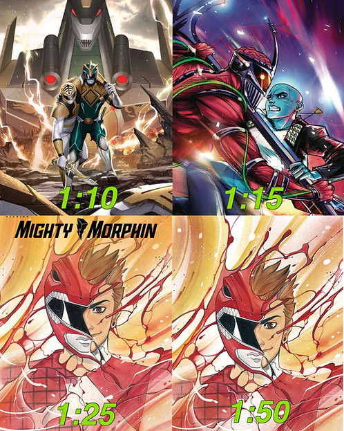 Mighty Morphin #8 Incentives