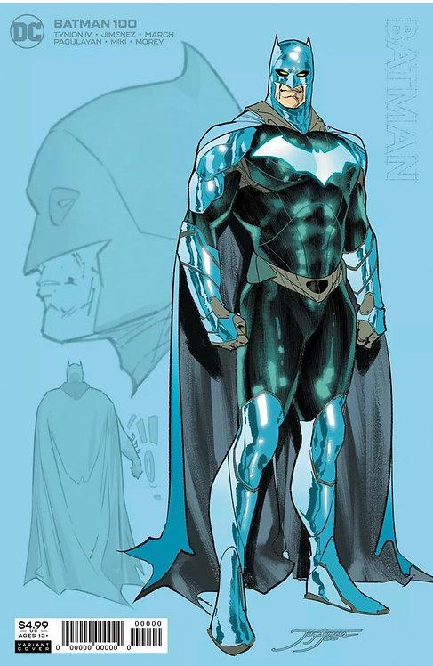 Batman #100 Incentive 1:25 Jorge Jimenez Card Stock Variant Cover