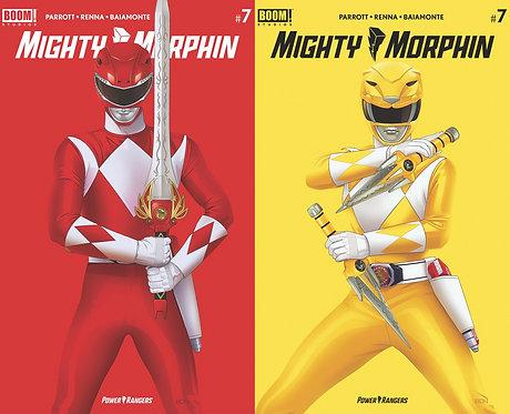 Mighty Morphin #7 Bon Bernardo Variant