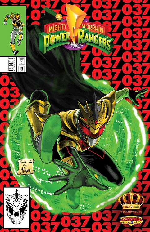 Mighty Morphin Power Rangers #37 ASM 300 Variant
