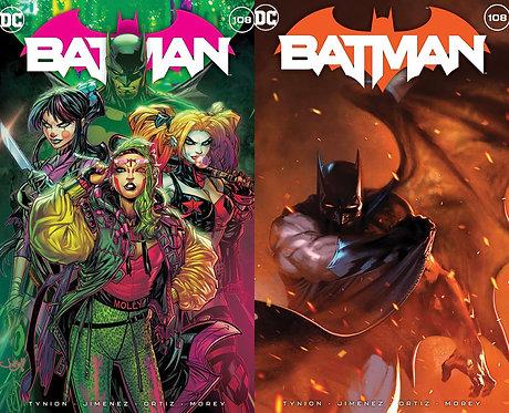 Batman #108 Exclusives
