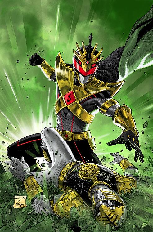 Mighty Morphin Power Rangers Exclusive #42 Amazing Spiderman #316 Virgin Varian