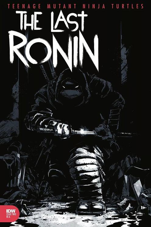 TMNT The Last ronin #2 1:10 Campbell Variant