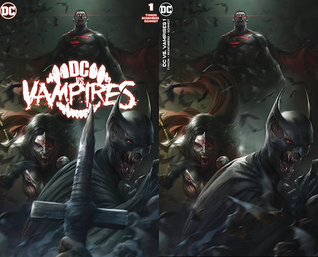 DC vs Vampires Francesco Mattina Variant