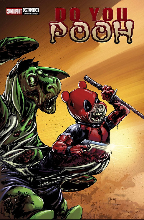 Do You Pooh? #1 Marvel Zombies Resurrection Clayton Crain Variant
