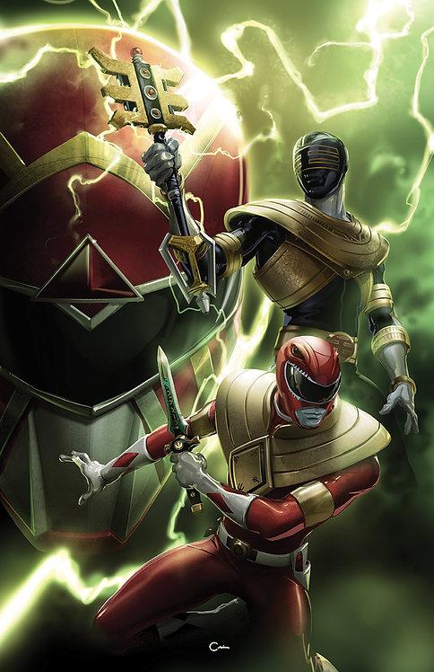 Mighty Morphin Power Rangers #48 Clayton Crain Virgin