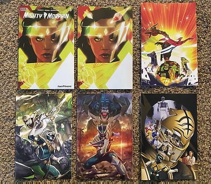Mighty Morphin #3 Incentives