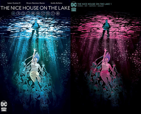 The Nice House On The Lake  #1 Megan Hutchison-Cates Variant