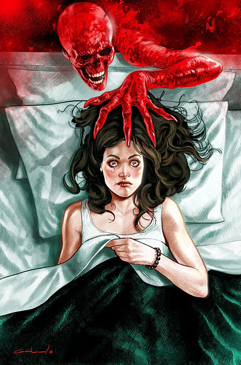 The Red Mother #1 A Nightmare on Elm Street Virgin Variant