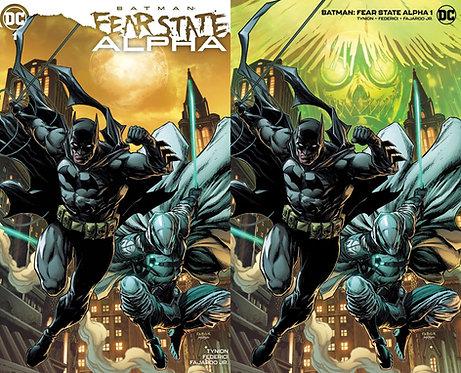 Batman Fear State Alpha #1 Jason Fabok Variant