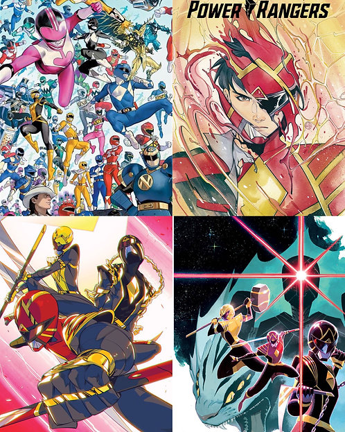 Power Rangers #1 Incentives
