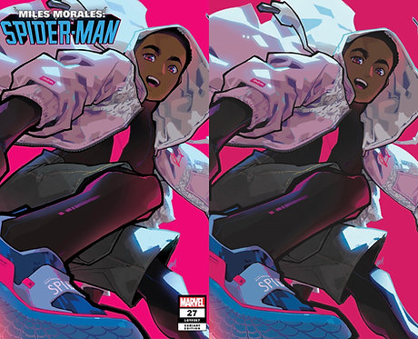 Miles Morales Spider-Man #27 Rose Besch Variant