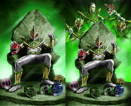 Power Rangers Drakkon New Dawn #1 Diego Galindo Variant