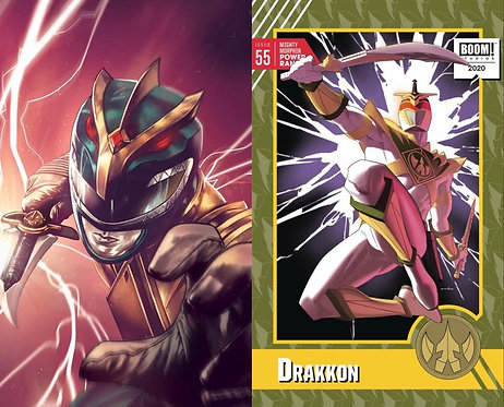 Mighty Morphin Power Rangers #55 Mico Suayan & 1:10 BUNDLE