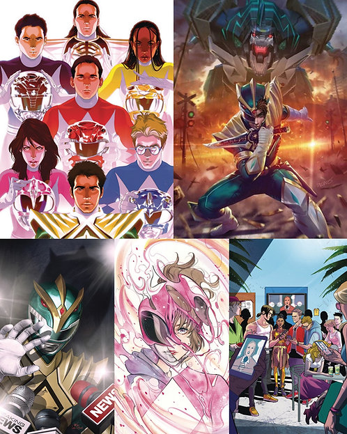 Mighty Morphin #4 Incentives