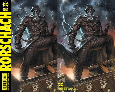 Rorschach #1 Lucio Parrilo Variant