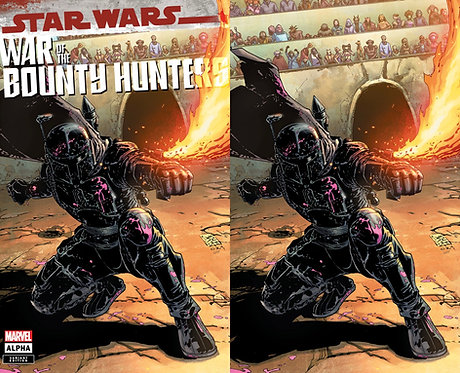 Star Wars : WAR OF THE BOUNTY HUNTERS #1 Giuseppe Camuncoli