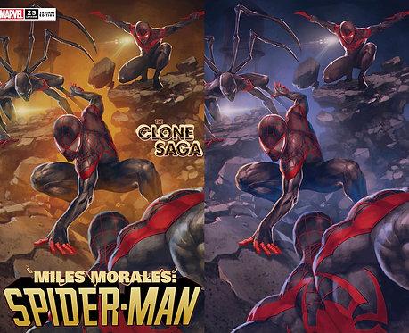 Miles Morales Spider-Man #25 SKAN Variant