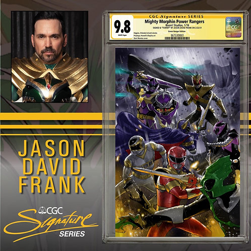 CGC SS 9.8 Jason David Frank