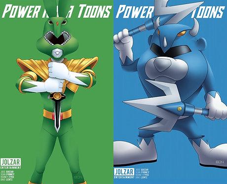 Power Ninja Toons #1 Bon Bernardo Variant