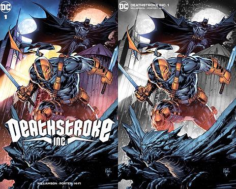 Deathstroke Inc #1 Ken Lashley Exclusive Variant