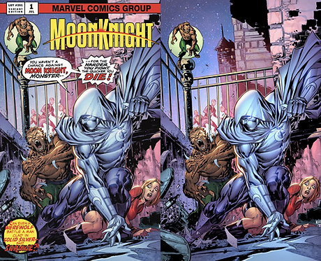 Moon Knight #1 Terrificon exclusive by Ken Lashley