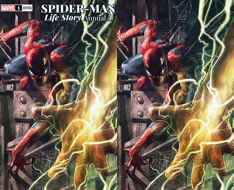 SPIDER-MAN MAN LIFE STORY ANNUAL #1 Marco Mastrazzo Variant