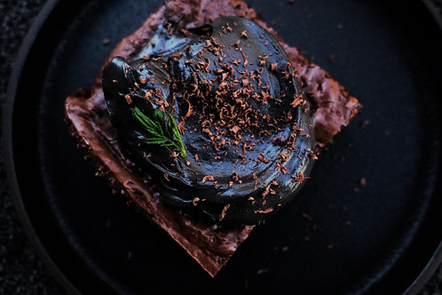 Black Velvet Brownie by Paola Velez