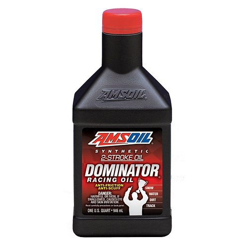 AMSOIL Dominator 2-Stroke Racing Oil Premix (12oz)