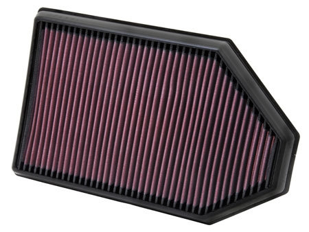 K&N 2015+ Dodge Charger/Challenger Hellcat High Performance Air Filter
