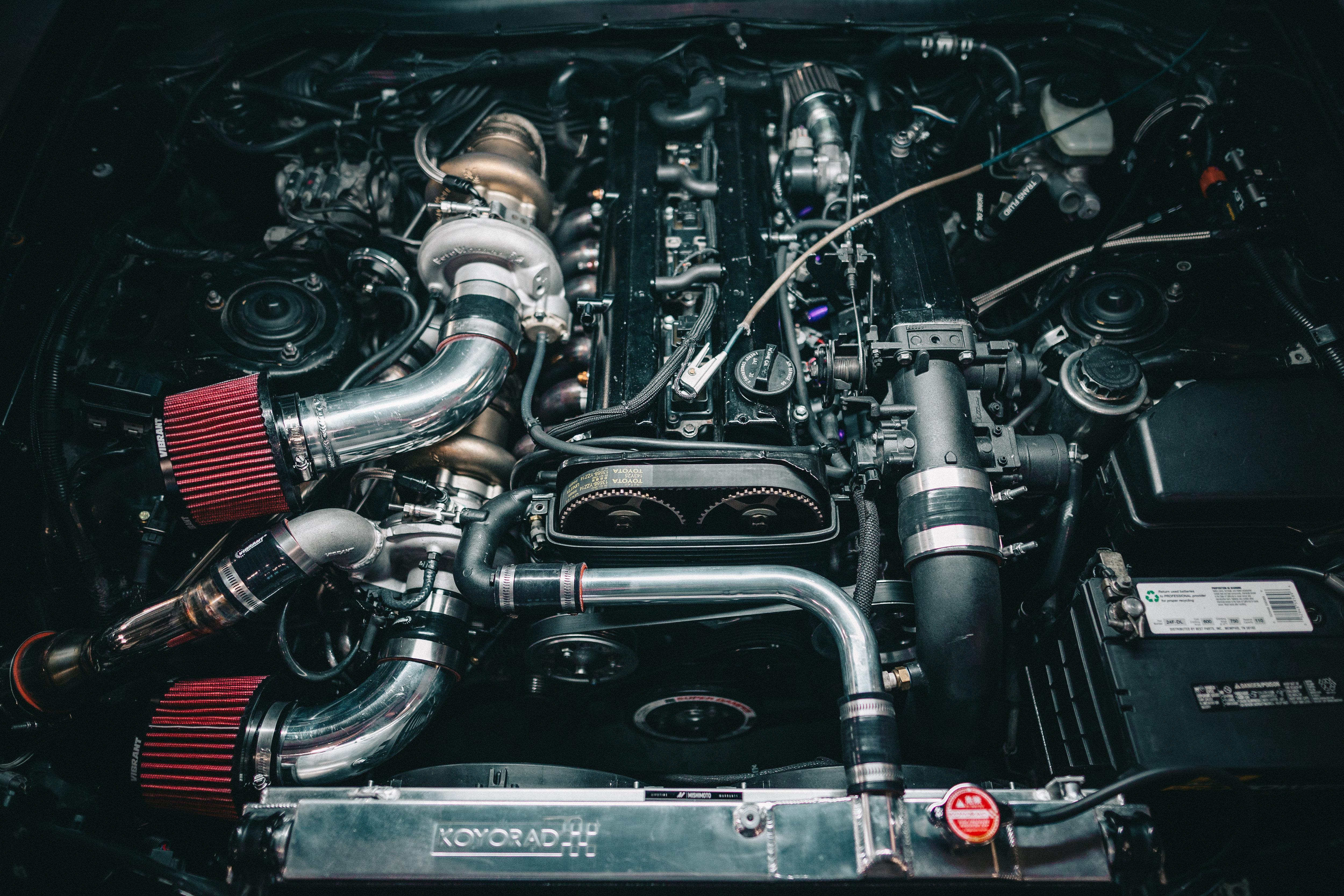 APU Toyota Supra 2JZ-GTE Twin Turbo Kit | addictedperformance