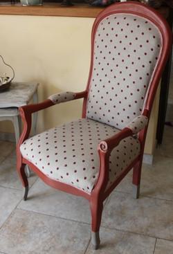 fauteuil pois