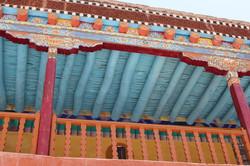 plafond de temple ladakhi