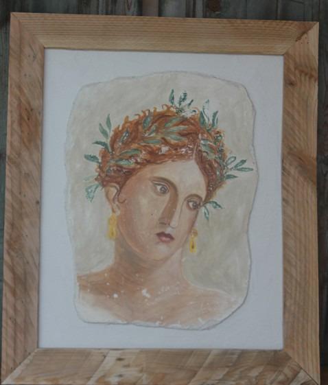 portrait de romaine Herculanum