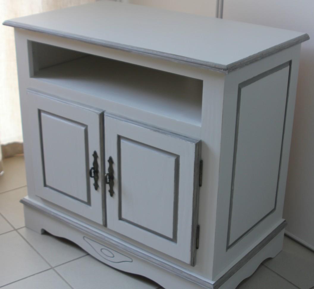 peinture meuble tv