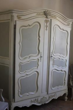 armoire bicolore