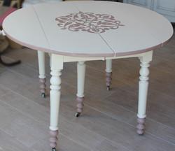 table bicolore