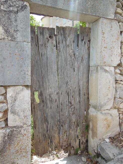 porte grise