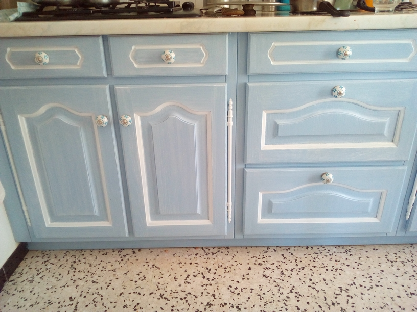 cuisine bleue portes