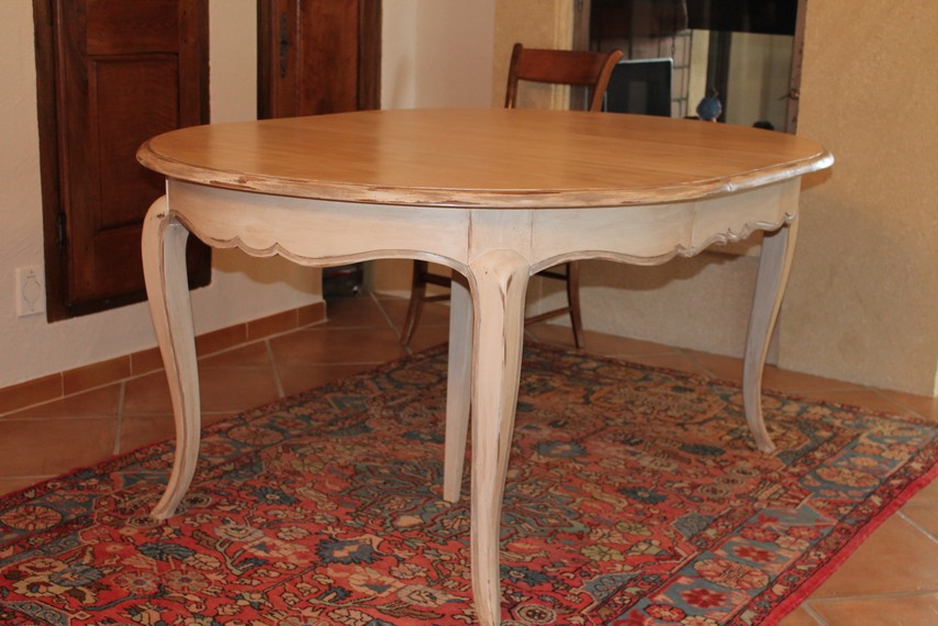 Table patinée