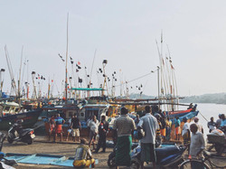 Local fishing harbour