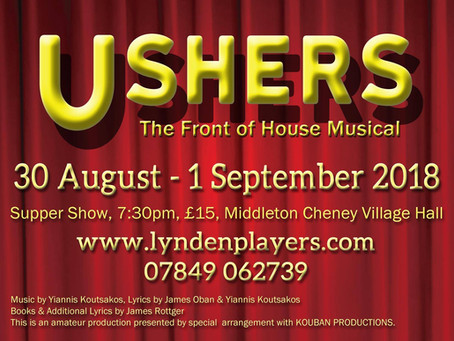 Past Productions: Ushers: The Front of House Musical