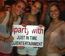 iparty with Just In Time DJ Entertainment