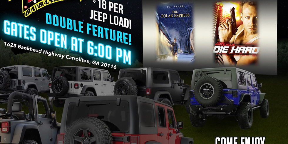 1st Annual Jeep Invasion- Saturday Night Double Feature