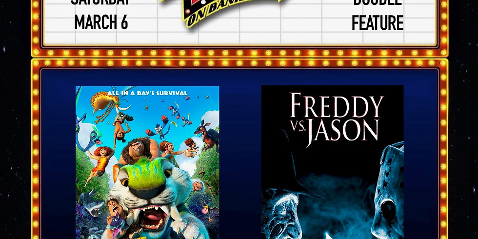 The Croods(A New Age)/ Freddy vs Jason