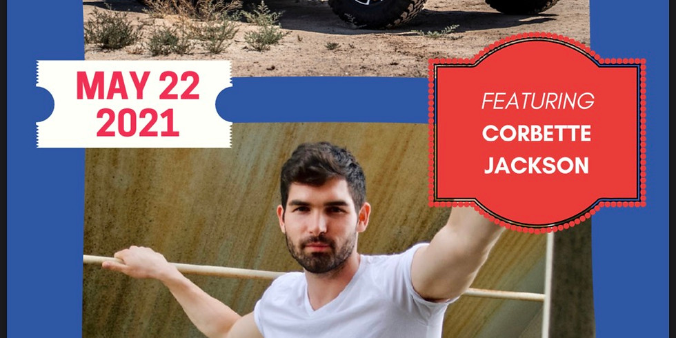 Corbette Jackson- Freedom Concert Series (Jeep Ride & Car Cruise)