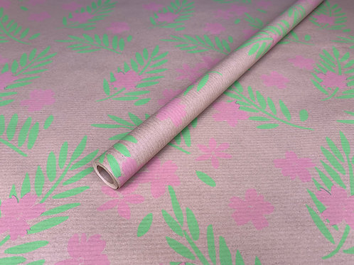 TRADE Pink Floral 4m Roll