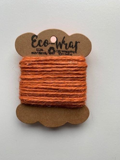 Orange twine 10m Twine