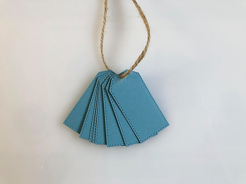 TRADE Sky-Blue Gift Tags - Pk of 10